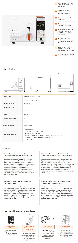 HONGIK MEDICAL SYSTEM Small-Scale Sterilizer H220S
