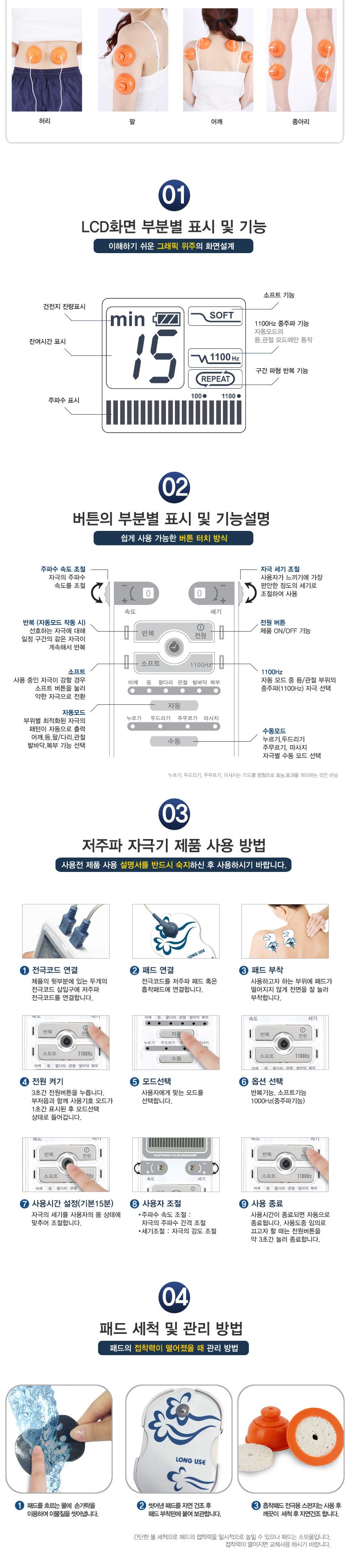 휴비딕 웨이브펄스 플러스 저주파 자극기 HMB-1000 2