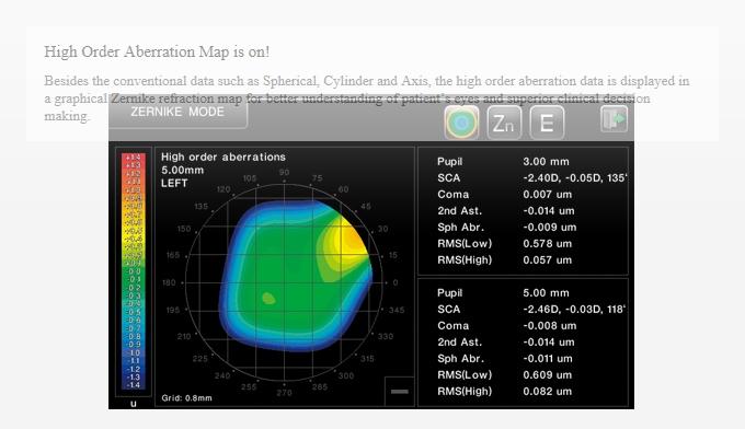 HUVITZ Auto Ref-Keratometer HRK-8000A 1