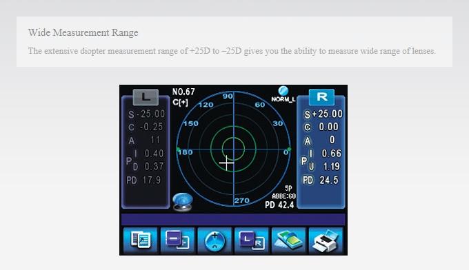 HUVITZ Auto Lensmeter HLM-7000 1
