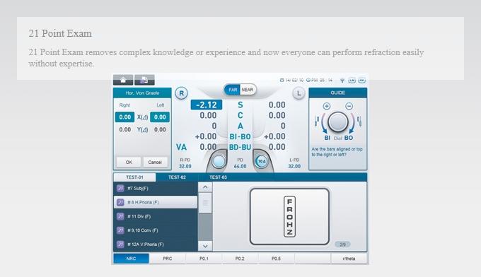 HUVITZ Digital Refractor HDR-9000