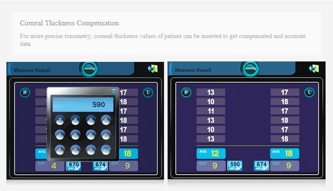 HUVITZ Non-Contact Tonometer HNT-7000 3