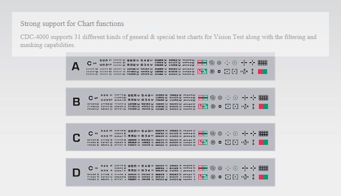 HUVITZ Visual Acuity chart CDC-4000