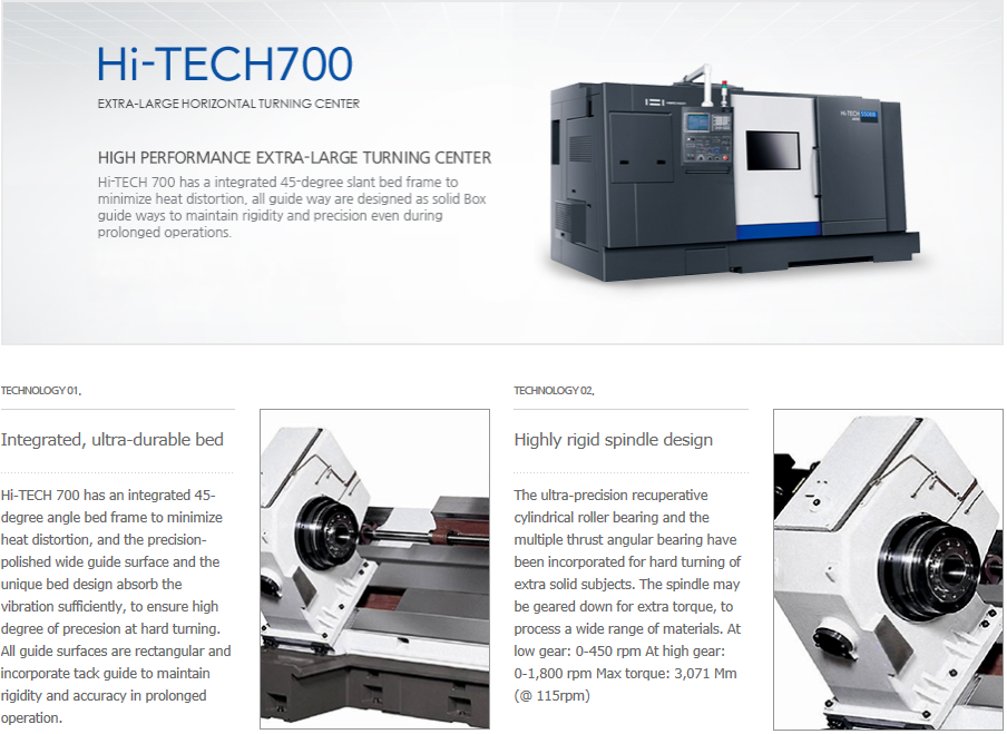 HWACHEON Extra-Large Type Hi-TECH 700