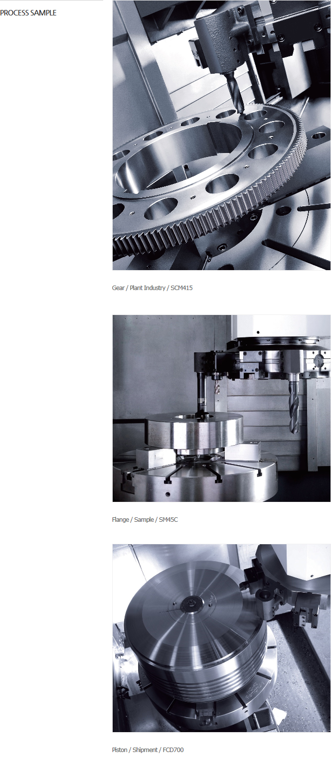 """HWACHEON Large Size, Gear Box with 32""""-50"""" Chuck VT-1150+ 2"""