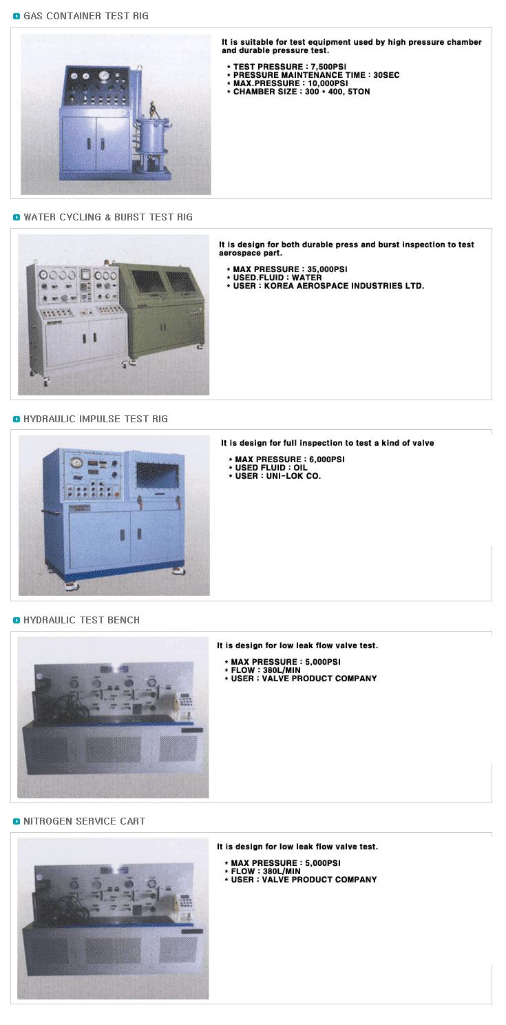 KOREA HYDMAG Test Unit