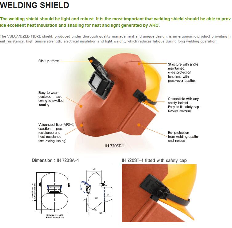 ILHUNG Welding Shield
