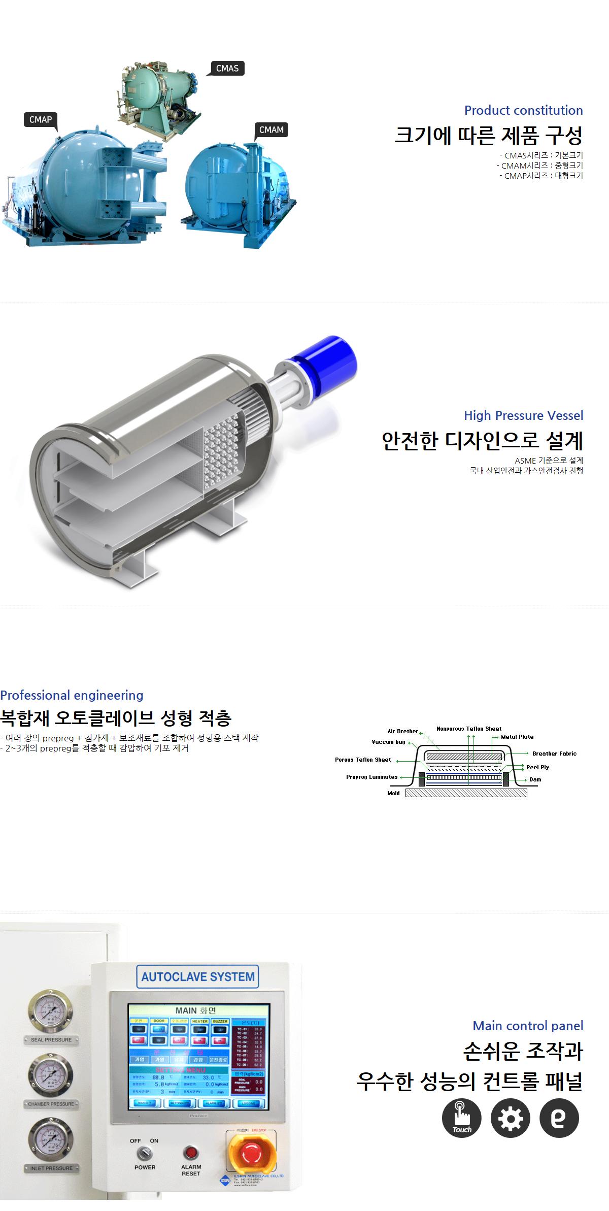 일신오토클레이브 복잡재성형 오토클레이브  2