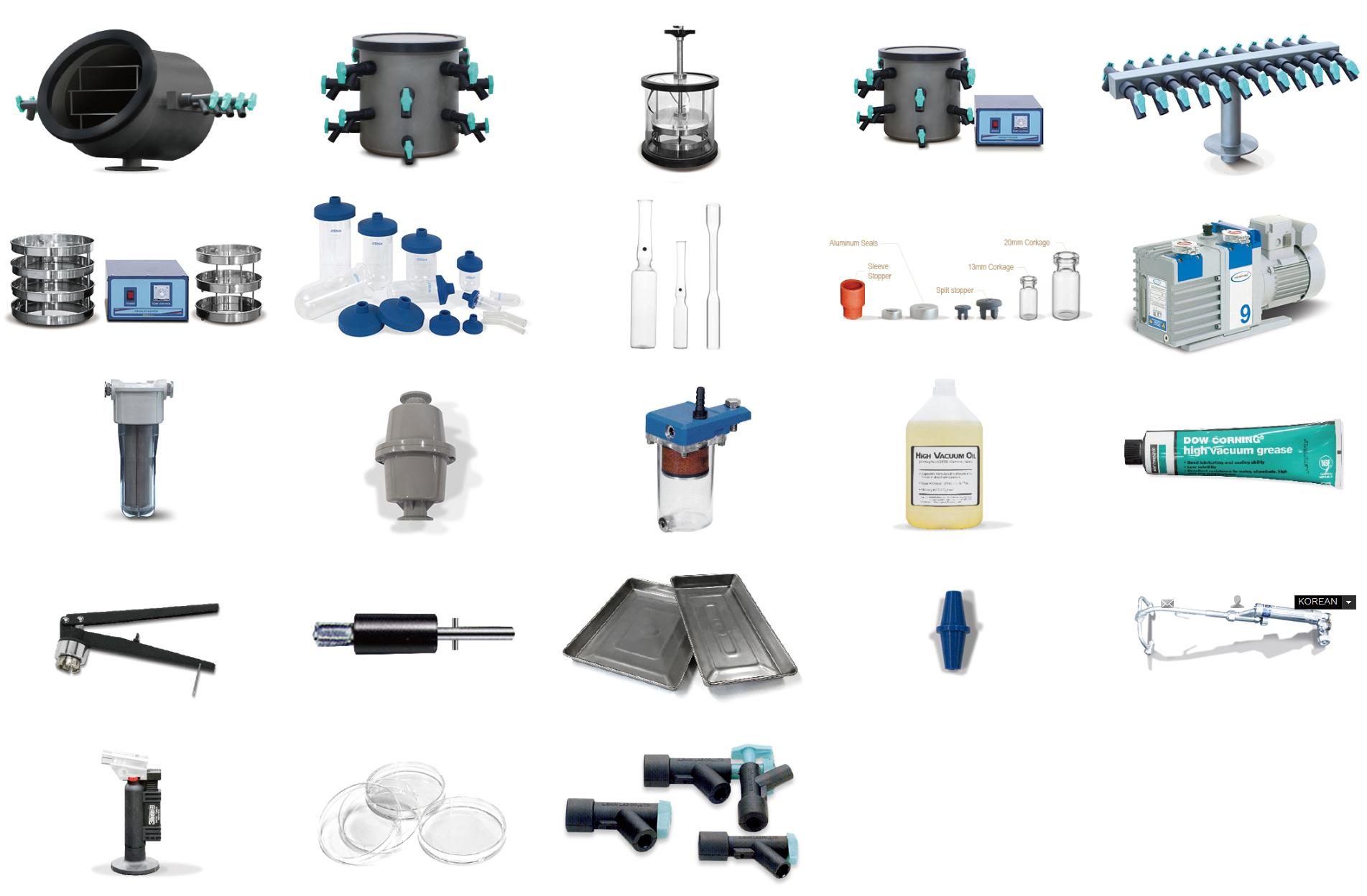 (주)일산바이오베이스 제약 산업용 동결건조기 LP-Series 9