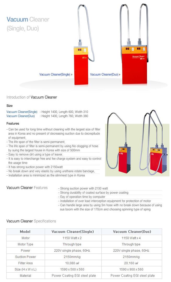 INSUNGTEC Vacuum Cleaner (Single, Duo)