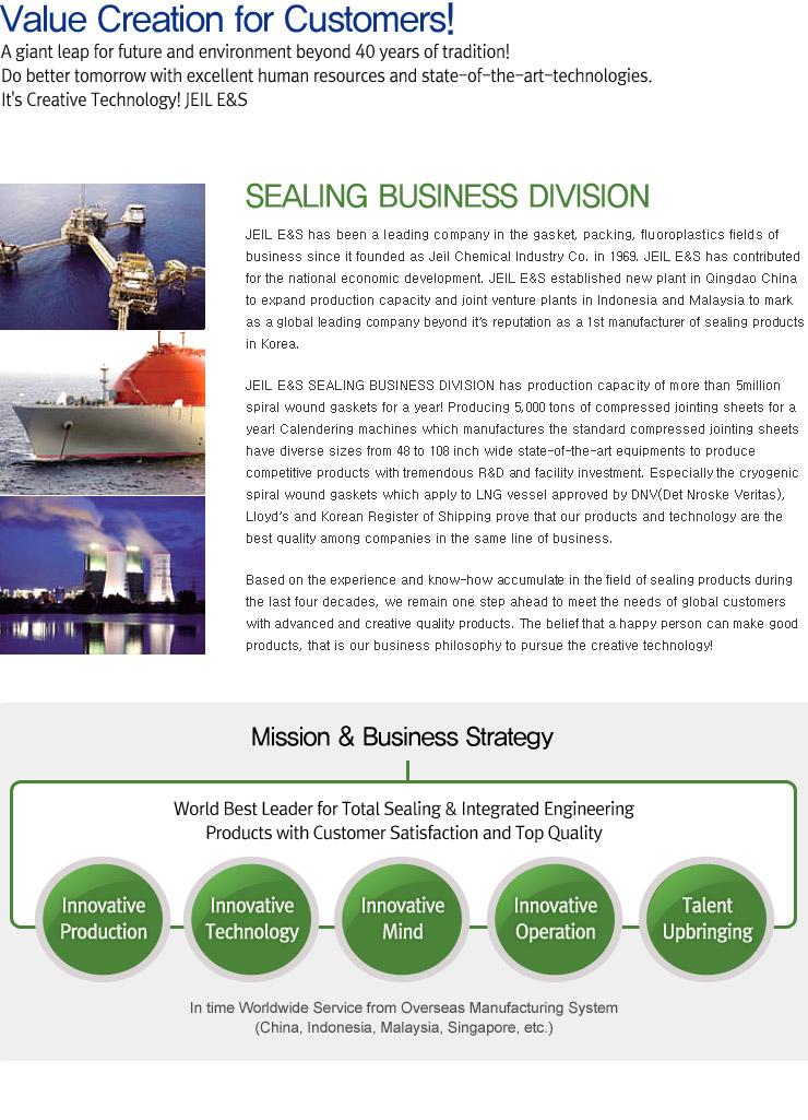 JEIL E&S Business