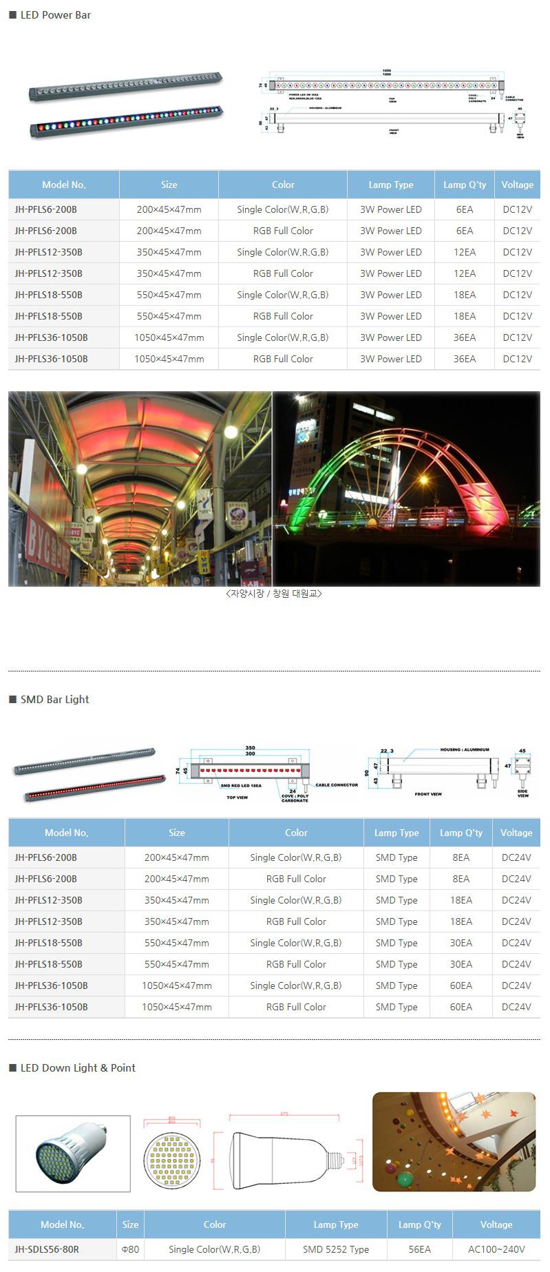 (주)정광테크 LED 특수조명  2