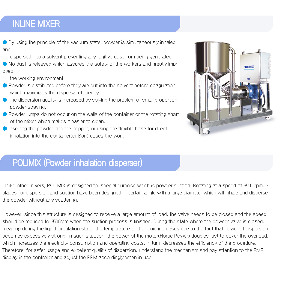 K&S Company - POLIMIX (High shear Mixer with Power Suction