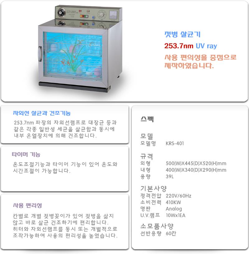 KARIS Nursing Bottle Sterilizer KRS-401