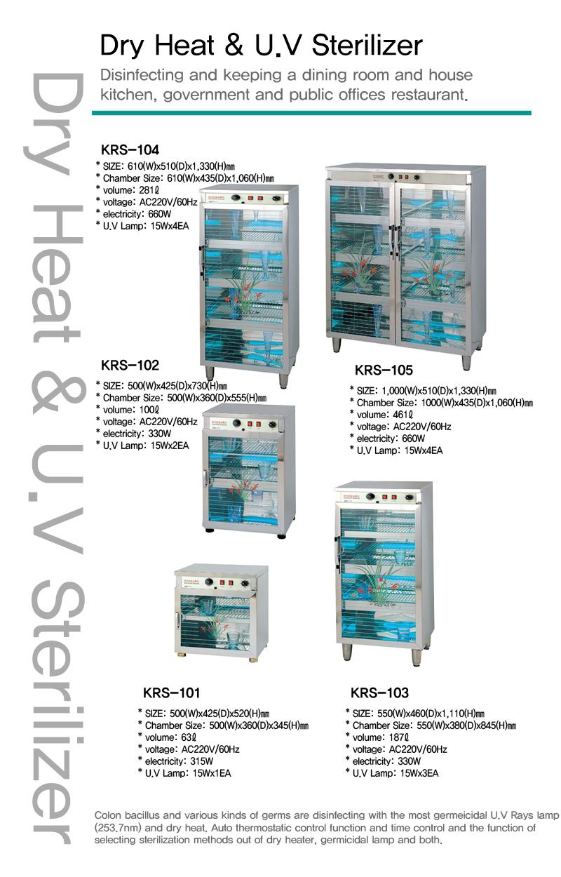 KARIS Dry Heat & U.V Sterilizer KRS-102 1