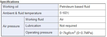 KCCPR Booster Cylinder KBP Series