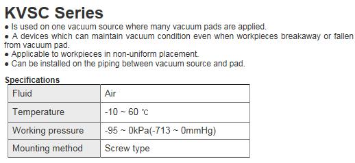 KCCPR Vacuum Equipment KVSC Series
