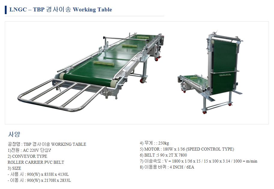 (주)케이엔디시스템 Working Table  1