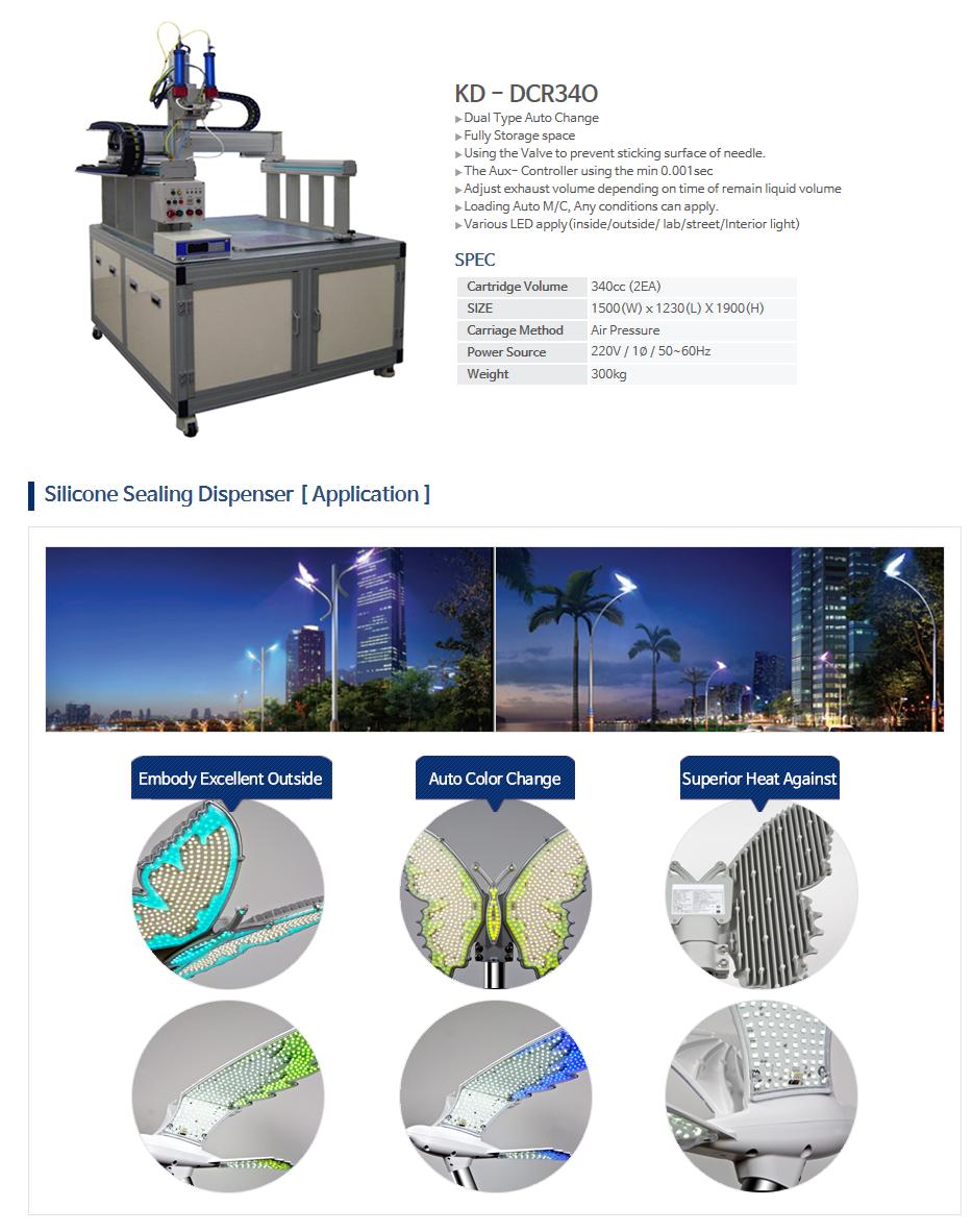 KNDSYSTEM Silicone Sealing Dispenser KD-DCR34O