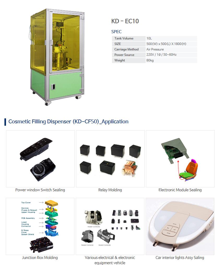 KNDSYSTEM Sealing & Molding Dispenser KD-EC10
