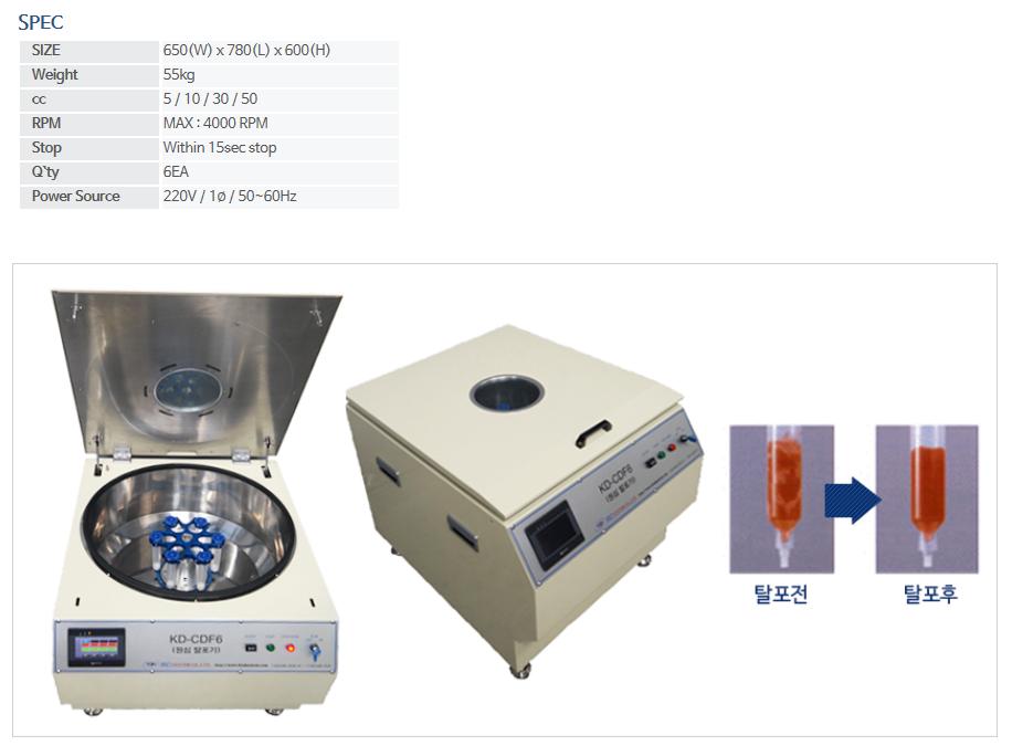 KNDSYSTEM Centrifugal Dispensing System CDF6