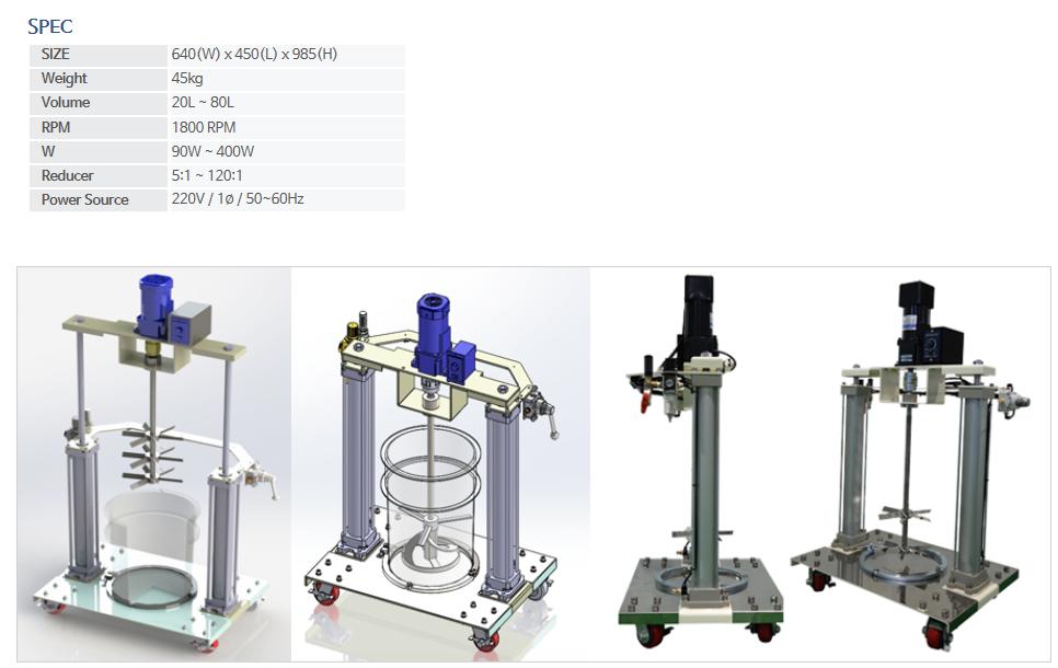 KNDSYSTEM Can Drum Stir System CDA-20