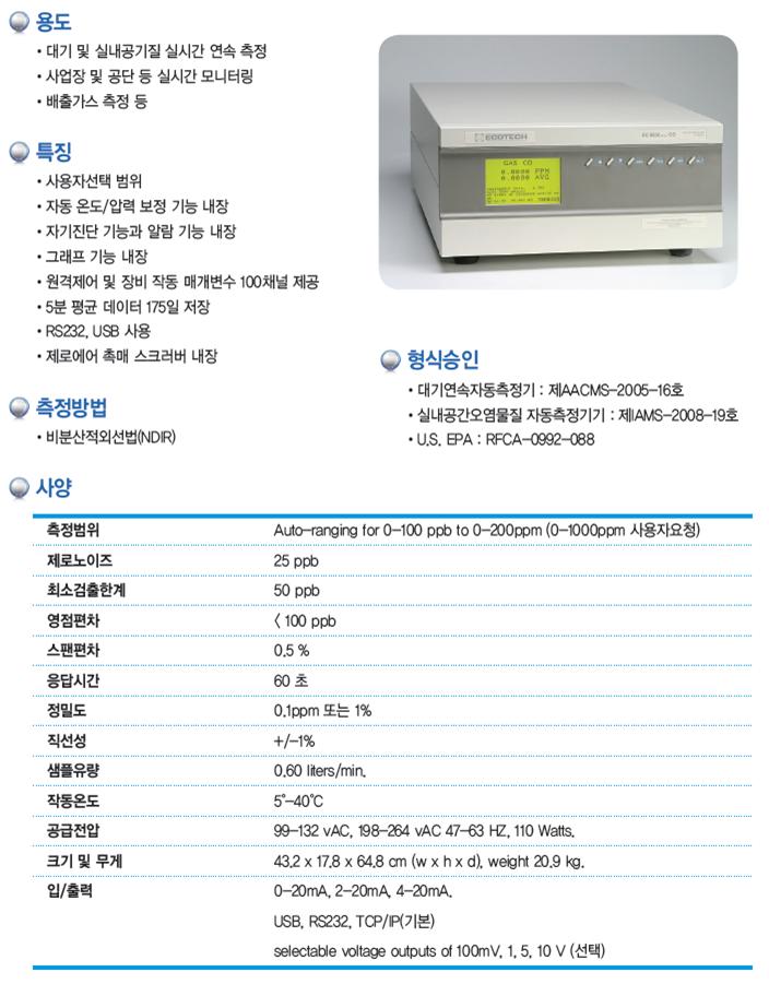 KNJ NOx / SO2 / CO / O3  1