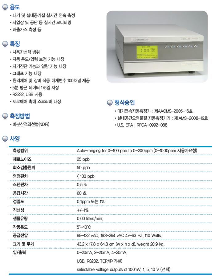 KNJ NOx / SO2 / CO / O3  2