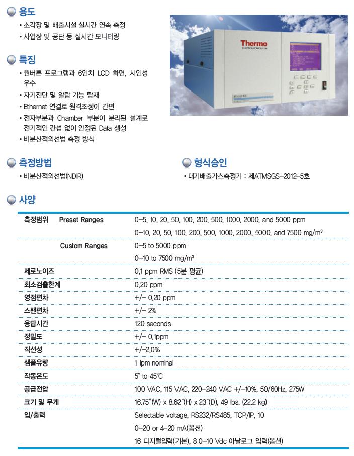 KNJ 염화수소 측정기 15i