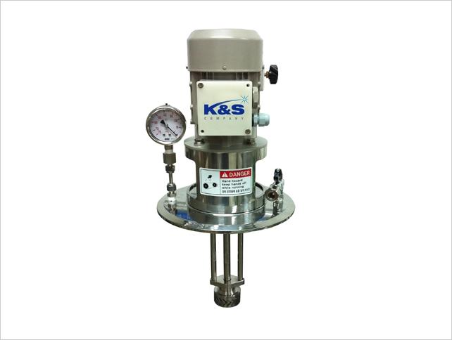 K&S Company HOMO MIXER (Batch Type Mixer for Homogenizing) HM-Series 13
