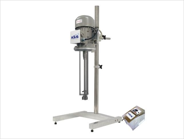 K&S Company HOMO MIXER (Batch Type Mixer for Homogenizing) HM-Series 18