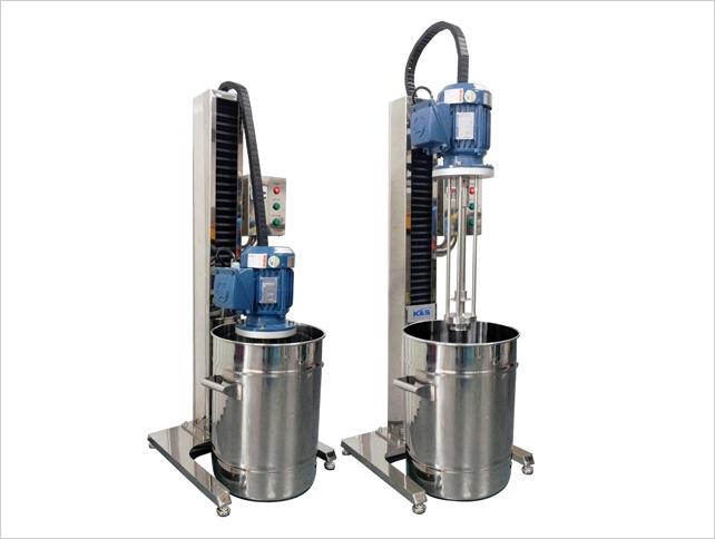K&S Company HOMO MIXER (Batch Type Mixer for Homogenizing) HM-Series 25