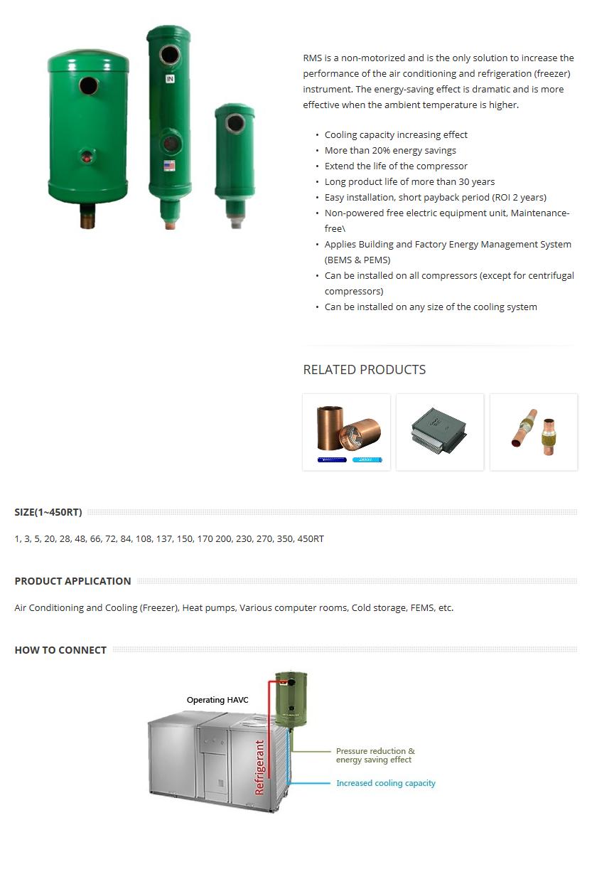 Korea Image System Air-conditioning Energy Saving Device