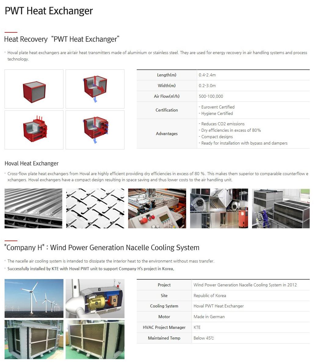 KTE PWT Heat Exchanger
