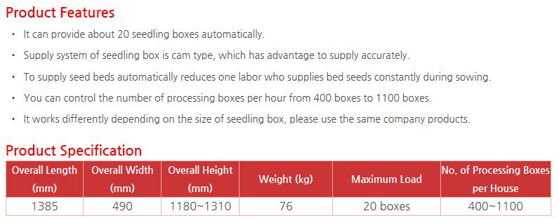 KWANG PUNG Seedling Box Supplier JK-570