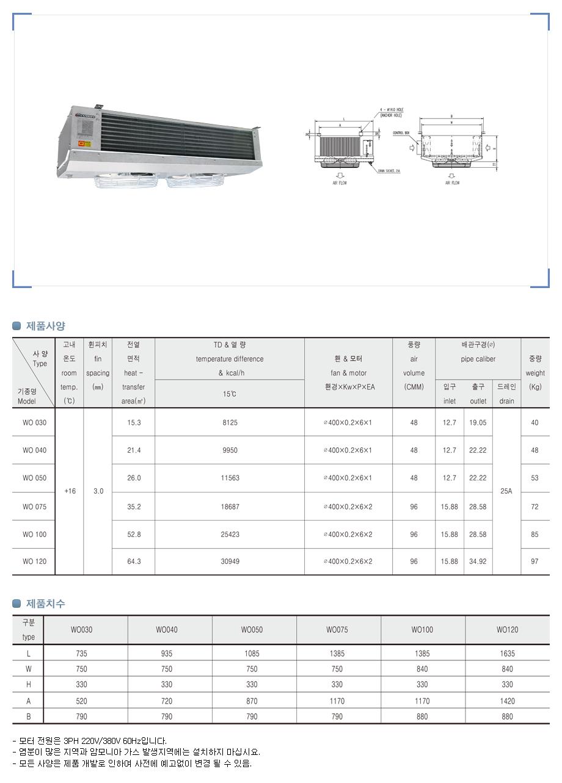 경동산업(주)  WO-Type 1