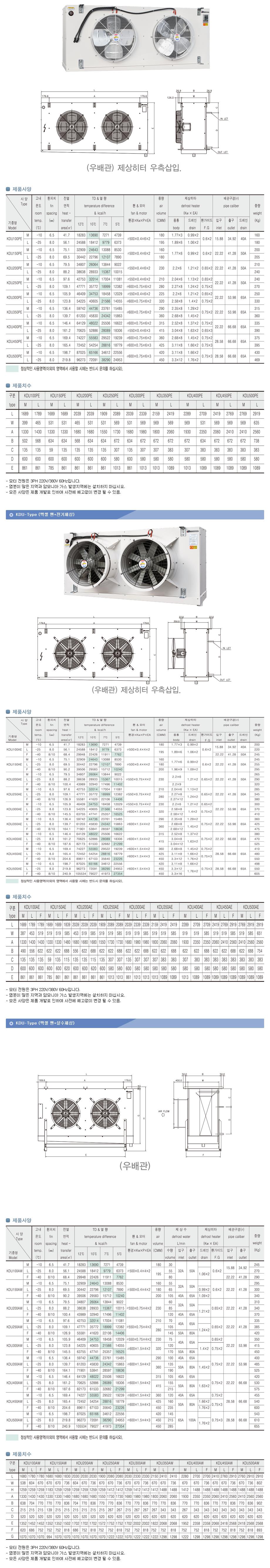 경동산업(주)  KDU-Type 1