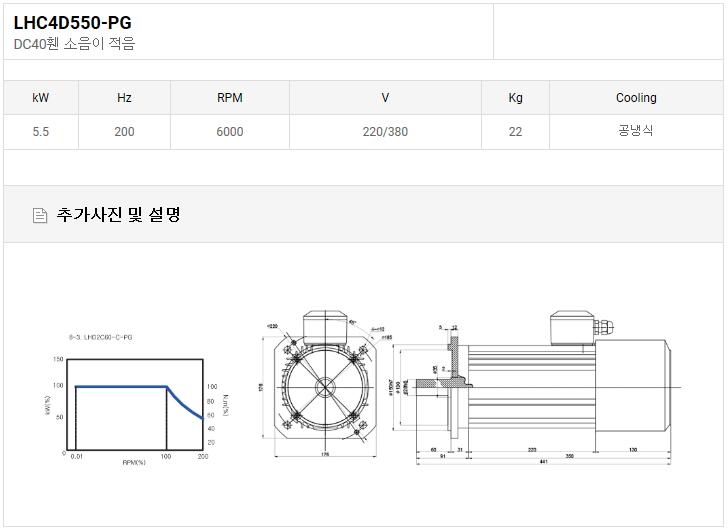 (주)LCM DC40휀 LHC4D550-PG