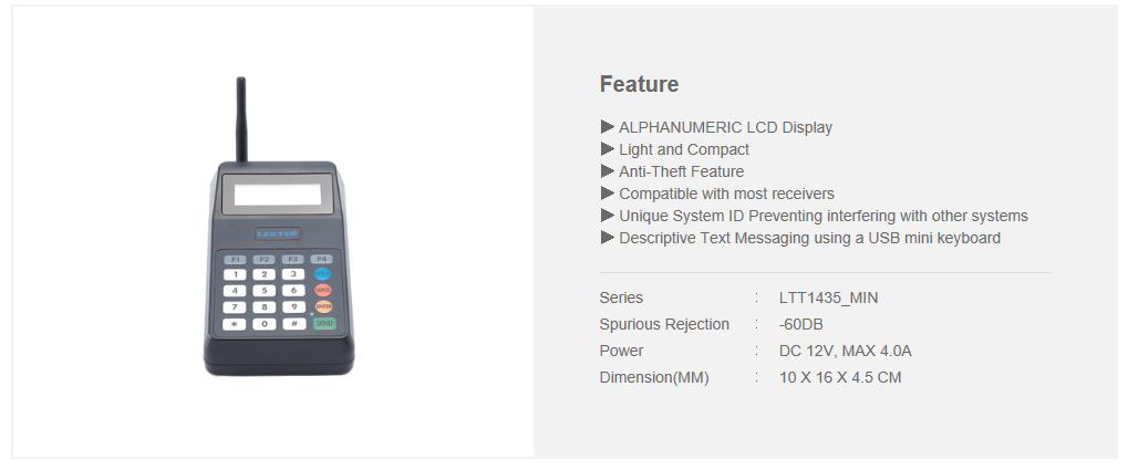 LEETEK 10-Button Mini LCD