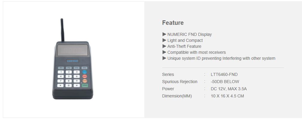 LEETEK 10-Button Mini FND NEO