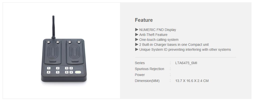 LEETEK 6-Button Mini RCL Charger Transmitter
