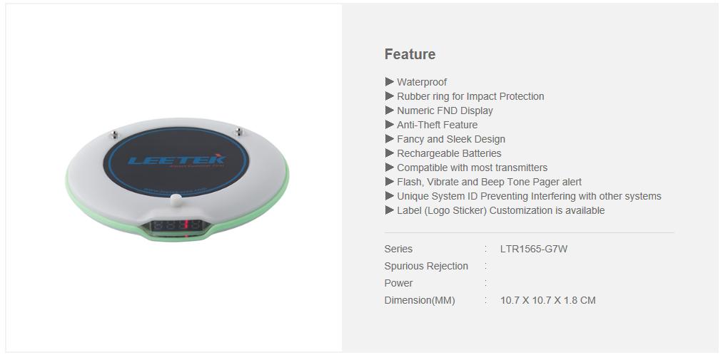LEETEK Premium Digital Coaster_W