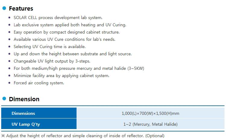 LICHTZEN Cabinet Type Solla Cell UV System