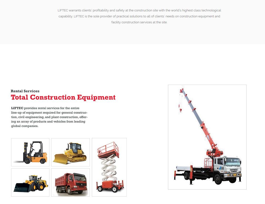 LIFTEC Total Construction Equipment
