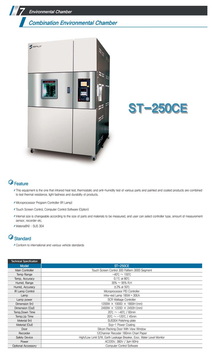 LIGHT-SALT Combination Environmental Chamber ST-250CE