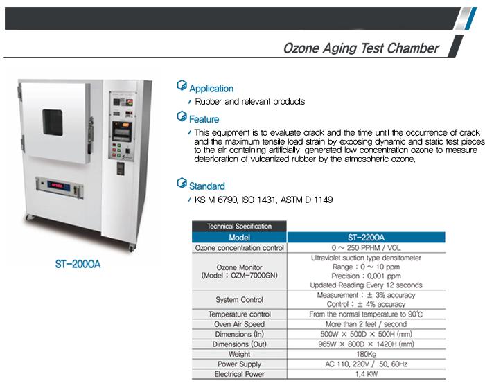 LIGHT-SALT Ozone Aging Test Chamber ST-200OA