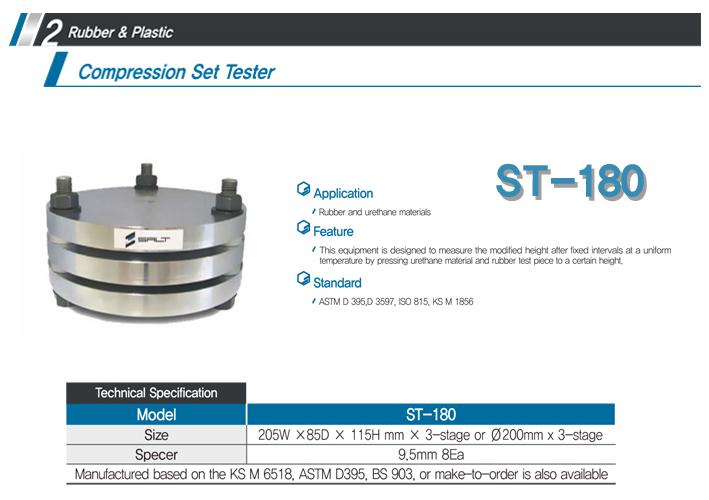 LIGHT-SALT Compression Set Tester ST-180