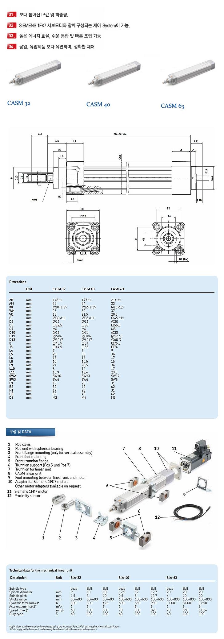 (주)엘투에스 Electric Cylinder