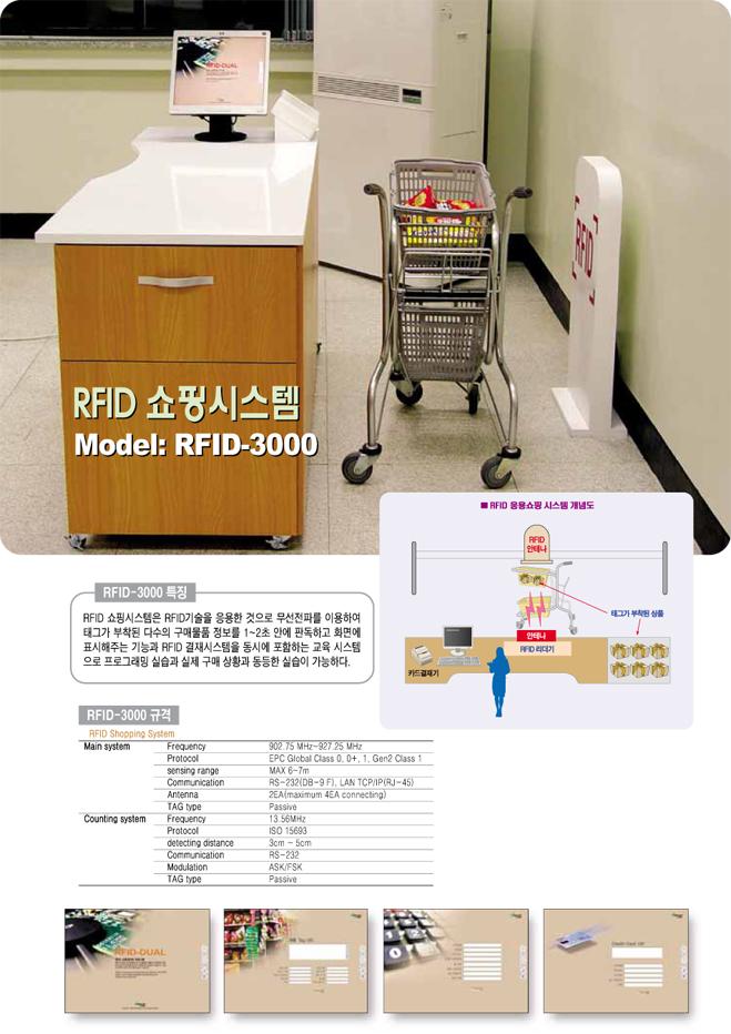(주)맨엔텔 RFID 쇼핑시스템 RFID-3000 1