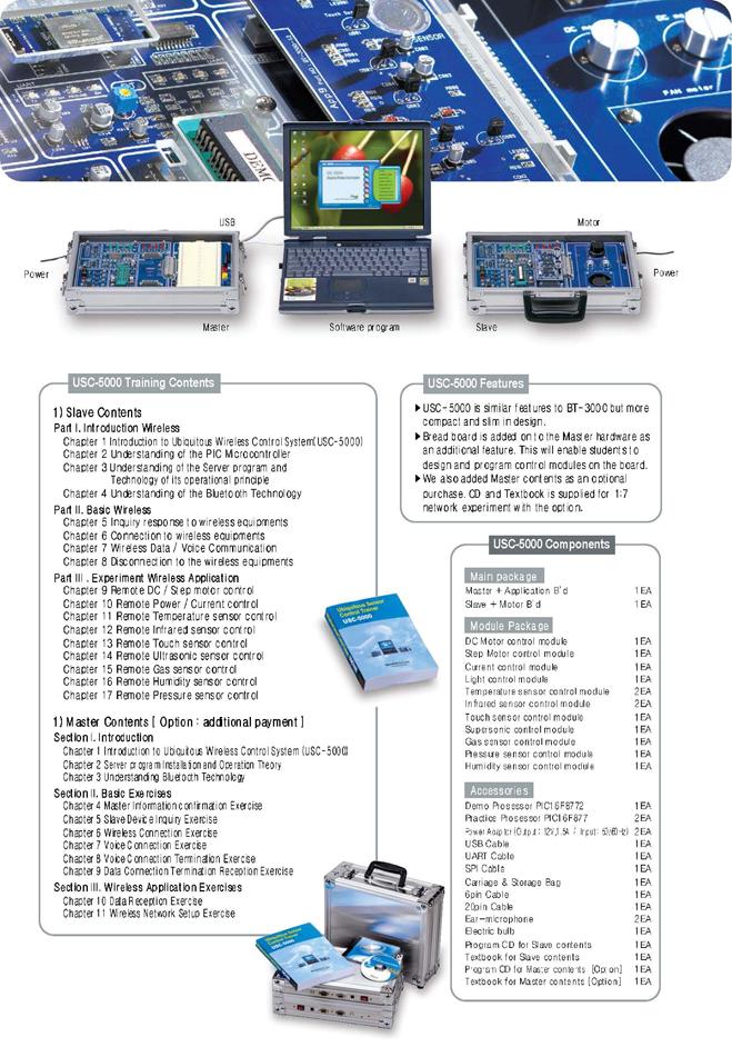 Man & Tel Ubiquitous Sensor Control Trainer USC-5000